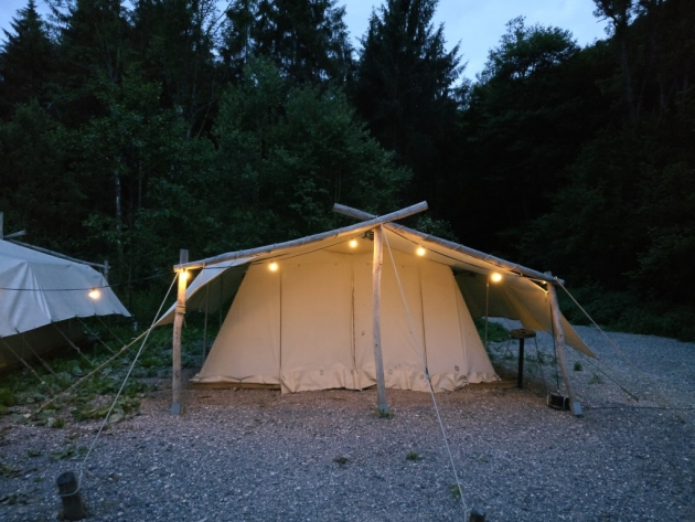 Survival Camping Ardennen