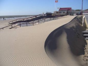 Het strand van Rockanje