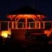 Het strand van Rockanje in de avond