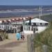 Strandpaviljoen op het strand van Katwijk