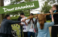 Schoolkamp Nederland thema Duurzaamheid