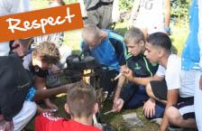 Sportdag thema Respect