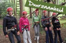 Schoolkamp Ardennen thema Duurzaamheid