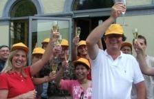 Jubileum vieren in de Ardennen